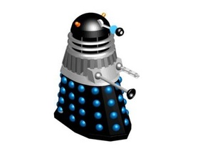 CLASSIC DALEK FROM (1965 MISSION TO THE UNKNOWN)
