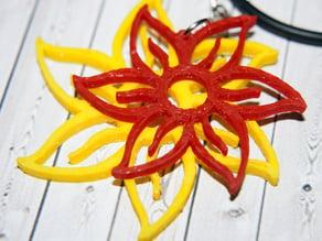 Flowers Pendant