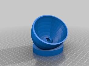 Pocket speaker bowl