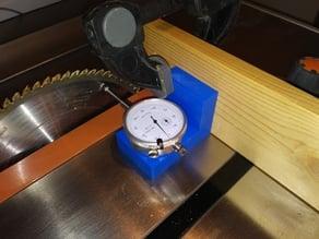 Table Saw Dial Gauge Holder