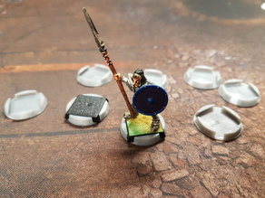 20mm Square to 25mm Round Base Converter