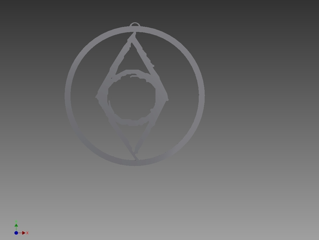 Thieves Guild Symbol By Omarch Thingiverse