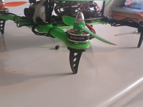 Landing gear for Hovership MHQ2