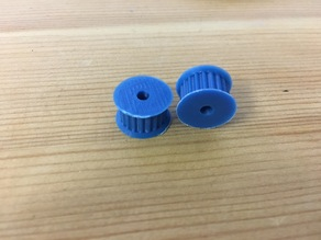 GT2 pulley 20T 3mm and 5mm bore