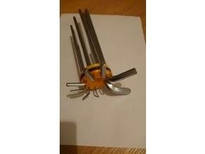 Improved hex key holder V2