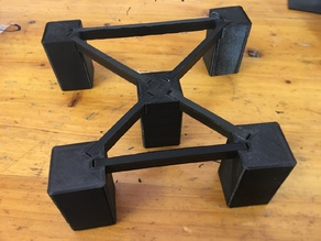 Rob's Parametric Modular Object Riser / Stand / Support