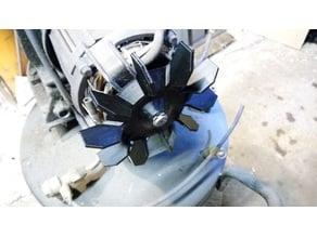 Air Compressor Fan (replacement for common 14mm shaft compressor motors)