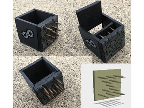 Miniature Sliding Spike Trap