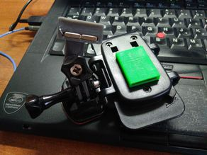 Cellphone holder magnetic adpater to gopro mount