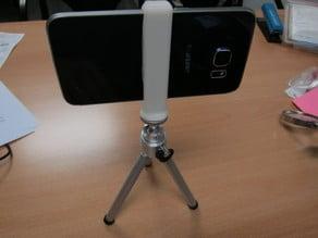 Galaxy S6 tripod adapter