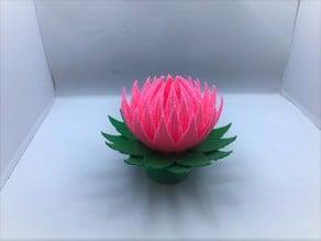 Lotus Blossom Lamp