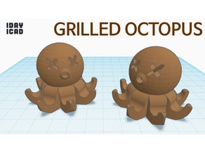 [1DAY_1CAD] GRILLED OCTOPUS