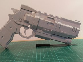 The B3 - Wrongman v.1.0 (Titanfall Inspired Handgun Prop)