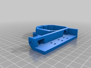 MPCNC ZAxis Cable Chain Stepper Mount