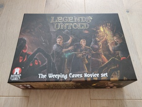 Legends Untold - Insert for sleeved cards