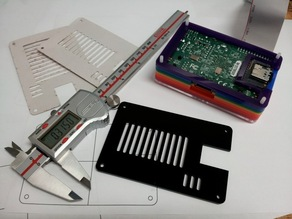 Pibow Base for MicroSD Adapter