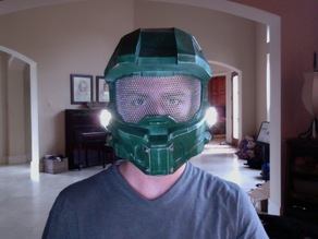 "A remix of ""halo 4 helmet full size A"" for up mini printer."
