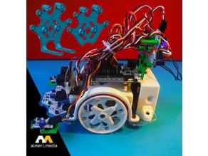 Soporte de componentes para Printbots de BQ