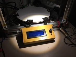 Folgertech Kossel 2020 Smart LCD Controller Enclosure