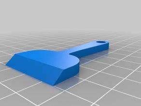 3D Printer Bed Scraper