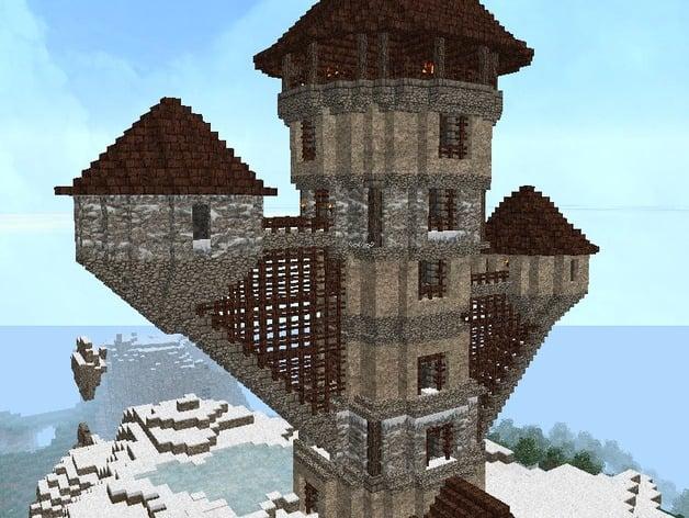 minecraft wizard u0026 39 s tower by tracylynnc