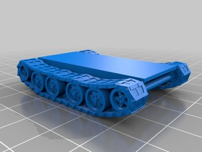15mm fictional tank chassis (T1)
