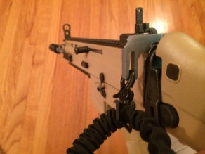 Airsoft RIS Sling Clip Mount