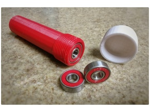 Storage tube for up to 15 bearings (608)