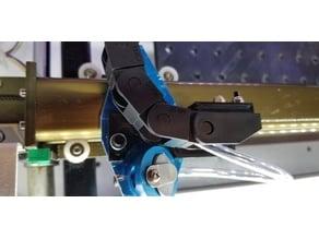 K40 laser engraver chain bar bracket
