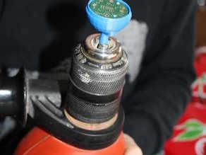 circular PCB holder for drill