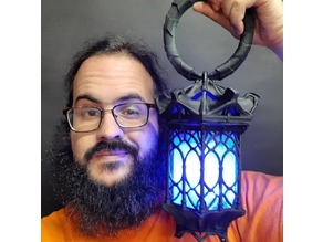Gothic Lantern (grip and Base)