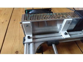 Power supply bracket MeanWell K8200