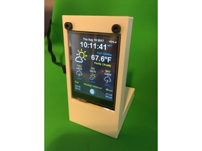 Stand For Color Weather Station from Squix