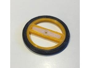 SG90 Servo Wheel with tire