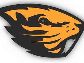 Oregon State Beavers 3d Logo