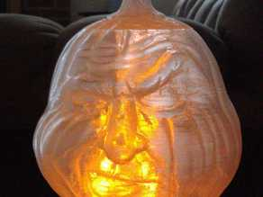 Grumpy Jack O'Lantern