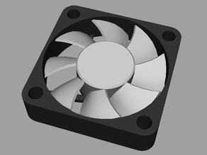 40mm Fan Model