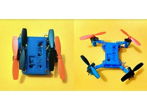 Articulated Drone for 7mm motors