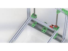 Re-D-Bot / Z axis - 16 mm rods for 2040 v-slot