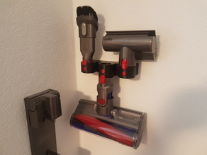 Triple Dyson Accessory Holder