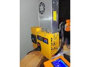 Caja fuente & electrónica