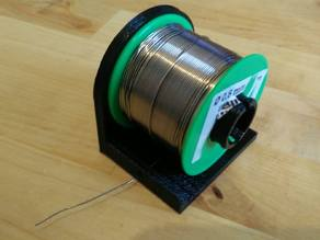 Solder spool stand