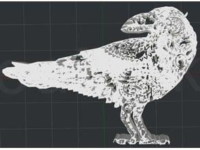 Crow V2 2D Wall Art