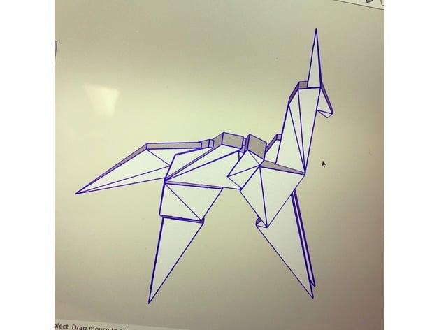 Origami Blade Runner Unicorn … | Origami blade runner, Origami ... | 472x628