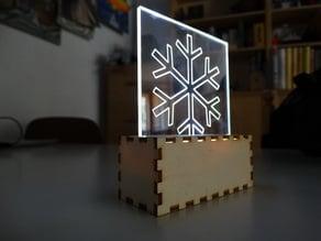 Lámpara led senzilla