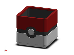 Pokeball Cube Planter