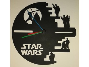 Star Wars Ikea STOMMA Clock