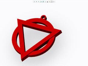 Enter Shikari Logo Keyring