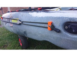 kayak anchor trolley end stop