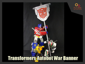 Transformers Autobot War Banner from Autocracy